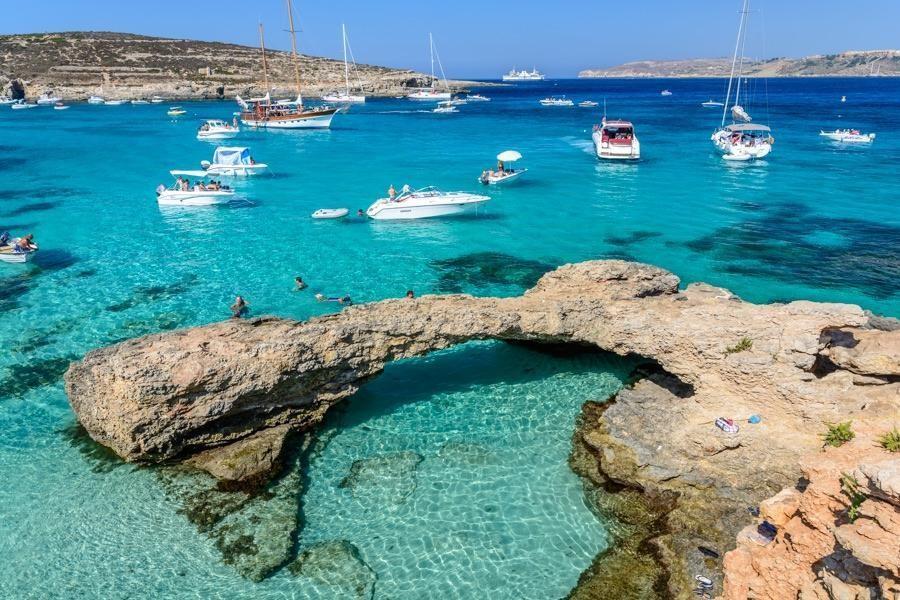 Phong cảnh, khí hậu ở Malta