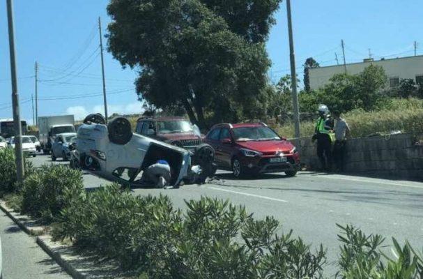 tai nạn giao thông malta 2021